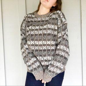 Vintage oversized grandpa sweater